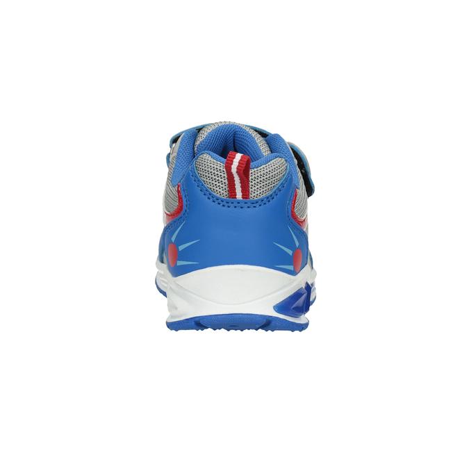 Dětské tenisky s blikající podešví mini-b, modrá, 211-9102 - 16