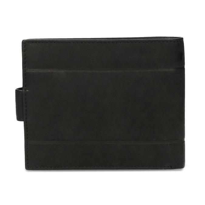Pánská kožená peněženka bata, černá, 944-6210 - 16
