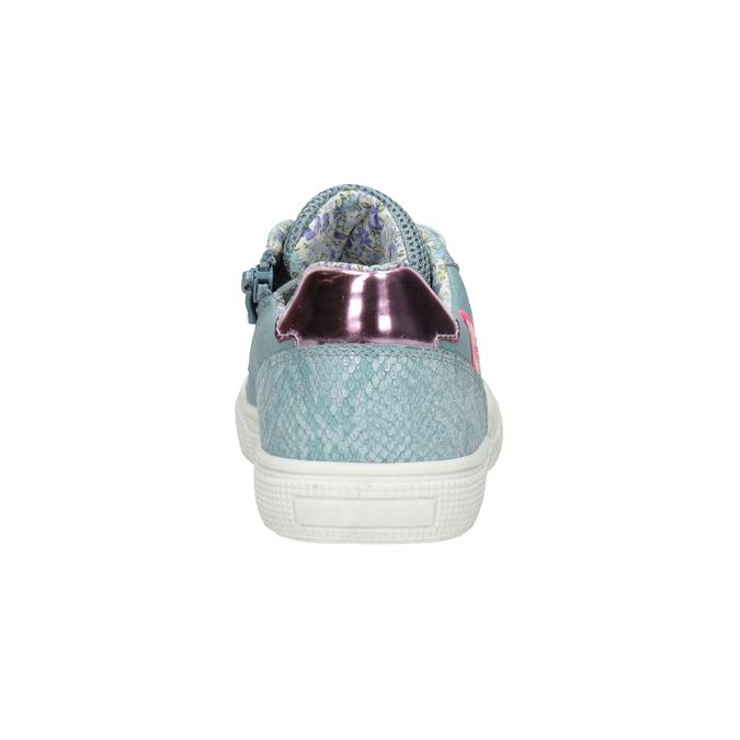 Modré dívčí tenisky s výšivkou mini-b, 321-9381 - 16