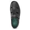 Pánské sandály z kůže pinosos, černá, 864-6626 - 17