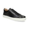 Pánské kožené tenisky bata, černá, 844-6648 - 13