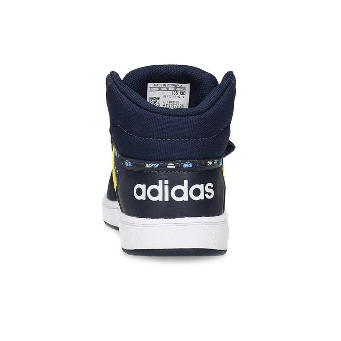 Chlapecké kotníčkové tenisky modré adidas, modrá, 101-9125 - 15