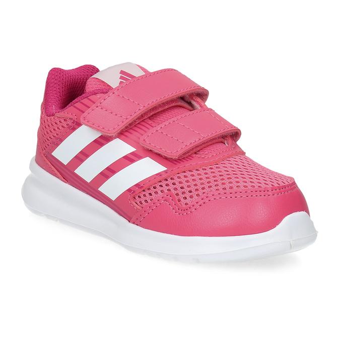 Růžové dětské tenisky adidas, růžová, 109-5147 - 13