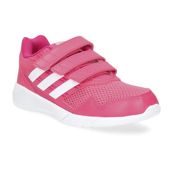 Růžové tenisky na suché zipy adidas, růžová, 309-5148 - 13