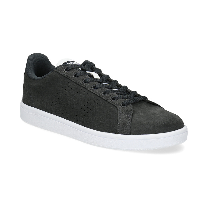 Ležérní tenisky z broušené kůže adidas, černá, 803-6394 - 13