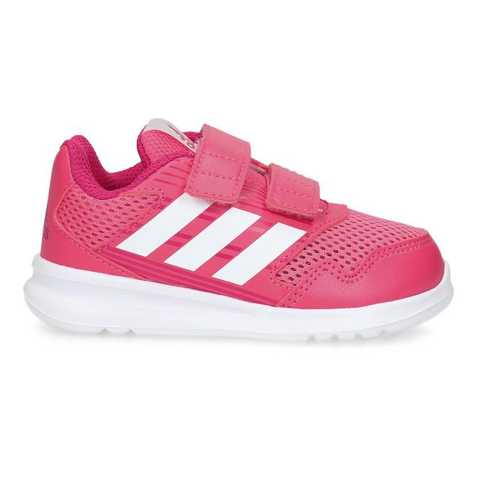 Růžové dětské tenisky adidas, růžová, 109-5147 - 19