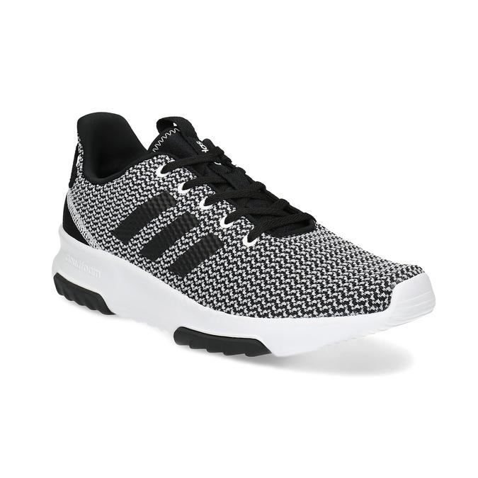 Černo-bílé tenisky s tkaným vzorem adidas, černá, 809-1101 - 13