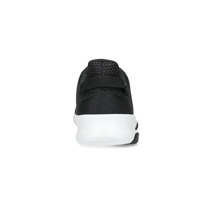 Černé pánské tenisky ve sportovním designu adidas, černá, 809-6101 - 15