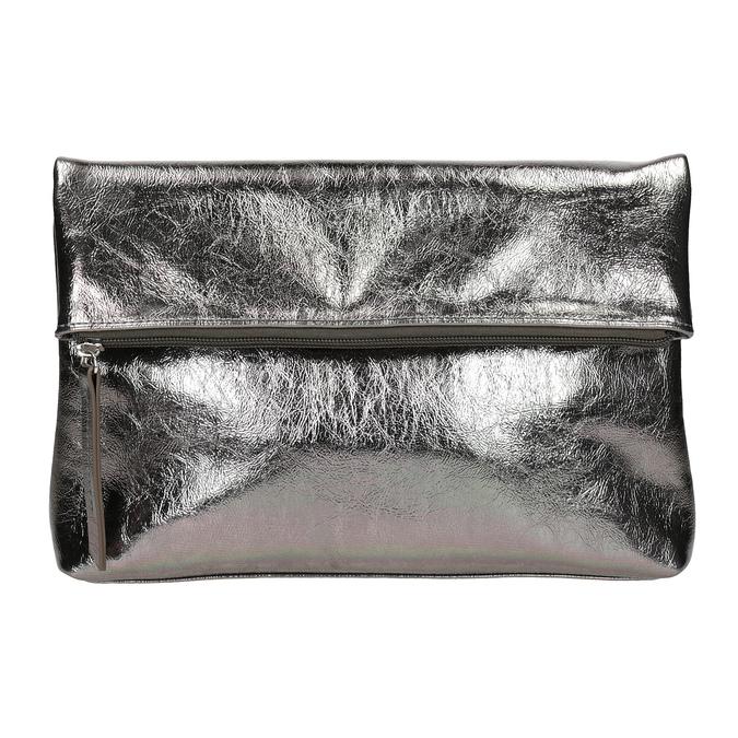 Stříbrná dámská Crossbody kabelka bata, stříbrná, 2021-961-1852 - 26