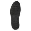 Ležérní kožené Slip-on boty a-s-98, černá, 816-6058 - 18