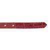 Červený dámský opasek z kůže bata, červená, 954-5204 - 16