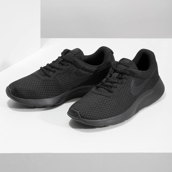 Černé pánské tenisky ve sportovním stylu nike, vícebarevné, 809-0557 - 16