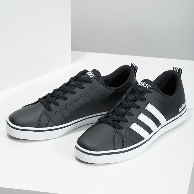 Ležérní pánské tenisky adidas, černá, 801-6136 - 16