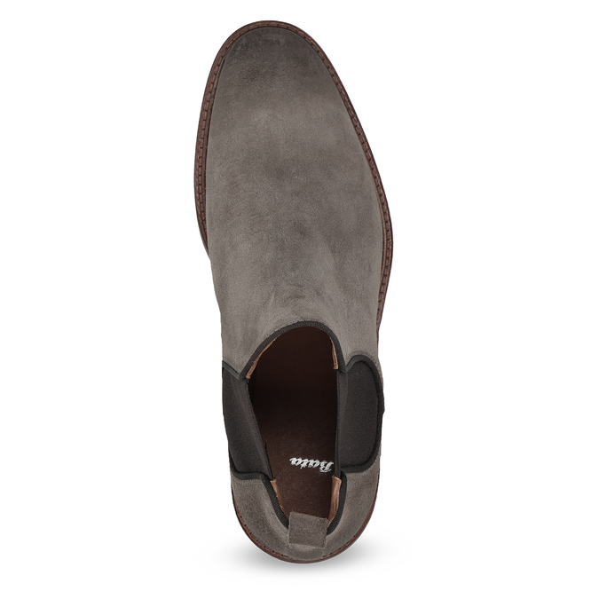 Kožené Chelsea Boots na výrazné podešvi bata, 823-8628 - 17