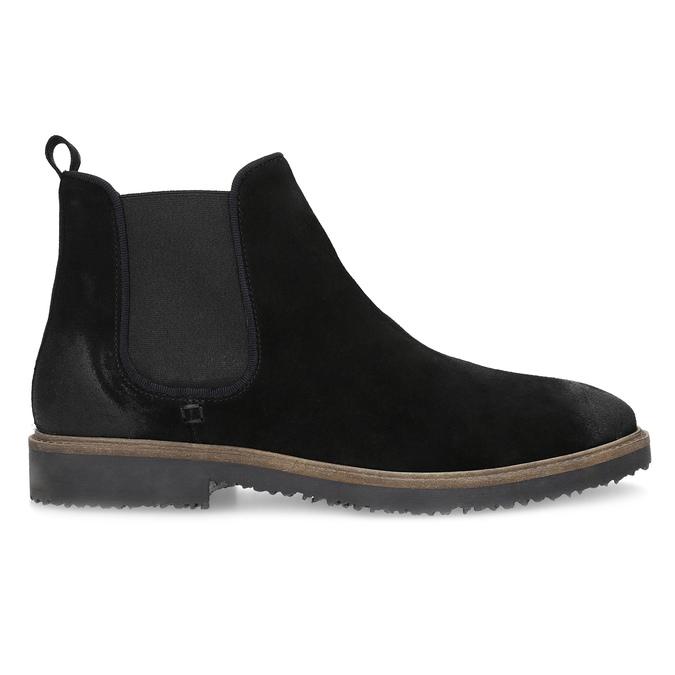 Chelsea Boots z broušené kůže bata, černá, 823-6628 - 19
