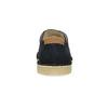 Pánské kožené polobotky s ležérní podešví bata, modrá, 823-9631 - 15