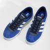 Modré tenisky z broušené kůže adidas, modrá, 803-9979 - 16