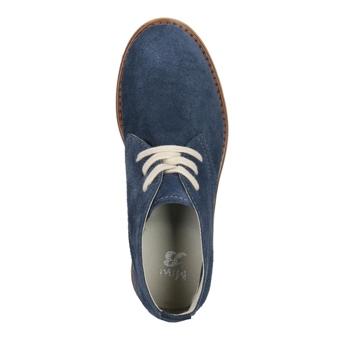 Kožené dětské Desert Boots mini-b, modrá, 313-9144 - 15