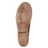 Kotníčkové kozačky z hnědé kůže a-s-98, hnědá, 516-4007 - 18