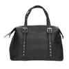Černá kabelka s kovovými cvoky bata, černá, 961-6834 - 26