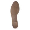 Hnědé kožené mokasíny s přezkou bata, hnědá, 516-3615 - 18