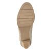 Lodičky šíře H s hadím vzorem bata, béžová, 721-8618 - 17