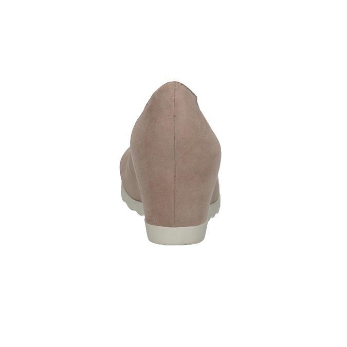 Lodičky na klínovém podpatku bata, 629-5636 - 15