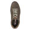 Pánské kožené tenisky v ležérním stylu weinbrenner, hnědá, 846-4805 - 17