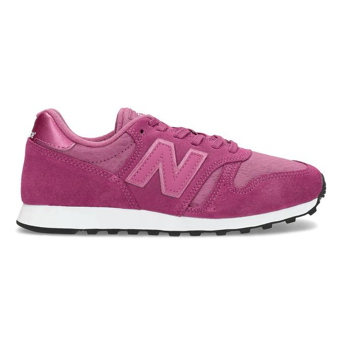 Dámské tenisky sportovního střihu růžové new-balance, růžová, 503-5874 - 19