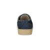 Ležérní kožené tenisky s Brogue zdobením mini-b, modrá, 313-9191 - 15