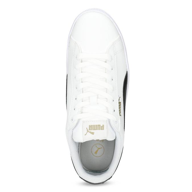 Bílé dámské tenisky na flatformě puma, bílá, 504-1704 - 17
