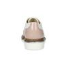 Dívčí polobotky s Brogue zdobením mini-b, růžová, 321-5244 - 15