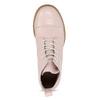 Dámská kotníčková obuv šněrovací ten-points, růžová, 526-5041 - 17