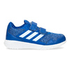 Modré dětské tenisky na suché zipy adidas, modrá, 309-9148 - 19