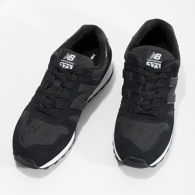 Dámské tenisky sportovní střihu černé new-balance, černá, 503-6874 - 16