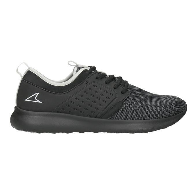 Černé pánské tenisky ve sportovním stylu power, černá, 809-6854 - 26