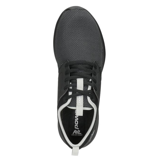 Černé pánské tenisky ve sportovním stylu power, černá, 809-6854 - 15
