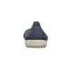 Ležérní kožené baleríny s perforací weinbrenner, modrá, 546-9614 - 15