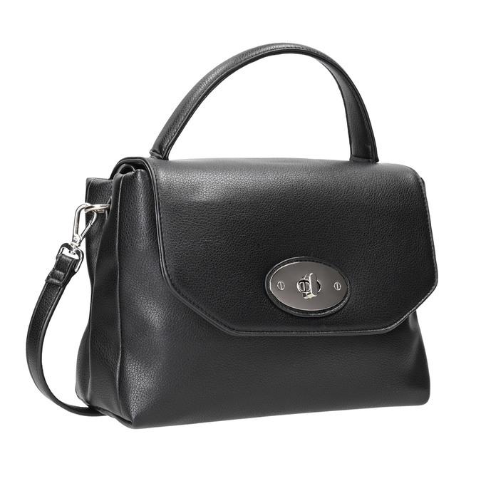 Černá dámská kabelka bata, černá, 961-6839 - 13