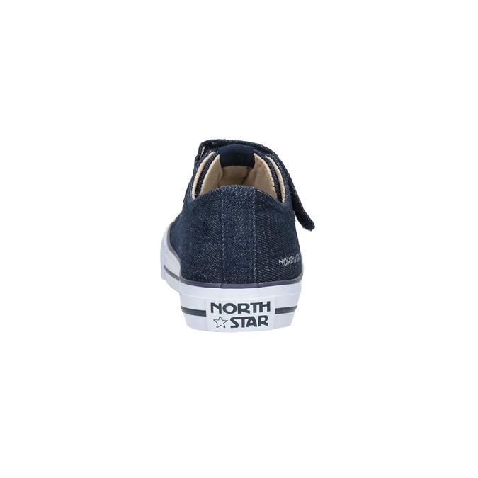Chlapecké tenisky v denimovém stylu north-star, modrá, 419-9614 - 15
