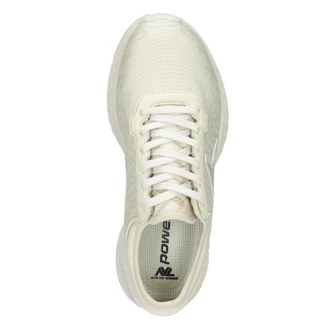 Béžové tenisky ve sportovním designu power, béžová, 509-3852 - 15