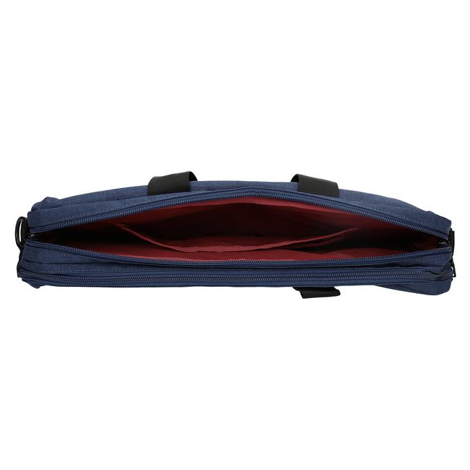 Černo-modrá taška na notebook roncato, modrá, 969-9698 - 15