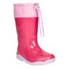 Růžové dívčí holínky mini-b, růžová, 192-5111 - 13