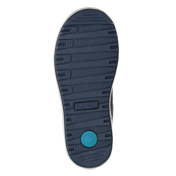 Chlapecké kožené tenisky modré mini-b, modrá, 416-9603 - 17