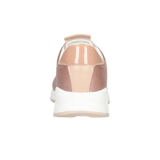 Dámské růžové tenisky bata-light, růžová, 549-5605 - 16