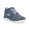 Dětské kotníčkové tenisky bata, modrá, 113-9609 - 13