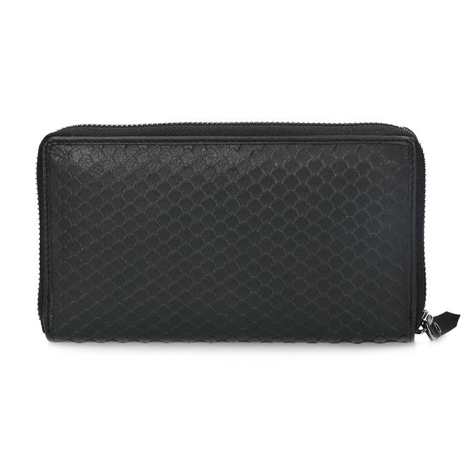 Kožená dámská peněženka se šupinami gabor-bags, černá, 946-6002 - 16