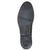 Kožené pánské polobotky s barevnou stélkou bugatti, černá, 826-6018 - 18