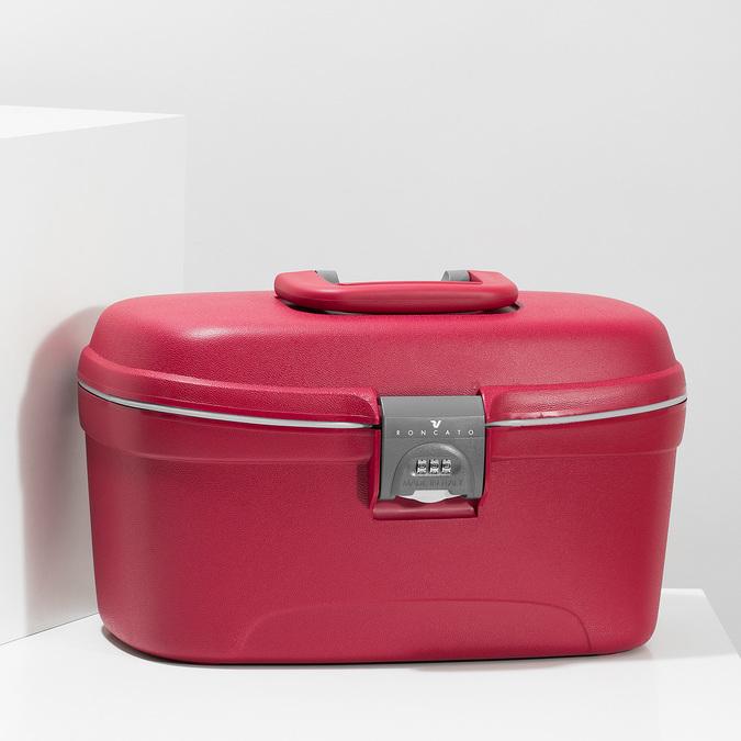 Cestovní kosmetický kufřík roncato, červená, 960-5611 - 17