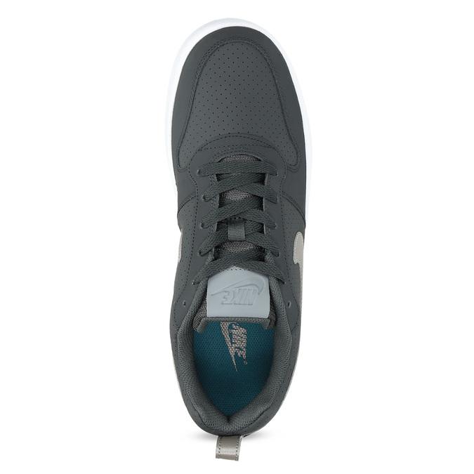 Šedé pánské tenisky s perforací nike, šedá, 801-2652 - 17
